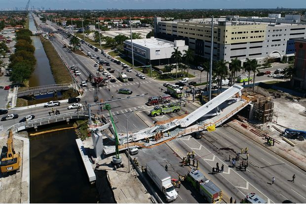 Florida officials seek answers after bridge collapses