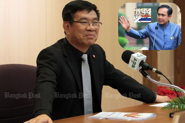 """It's been an honour to reveal the face of the NCPO,"" Mr Somchai writes on Facebook. (Bangkok Post file photos)"