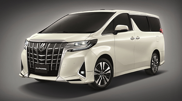 Toyota facelifts Alphard and Vellfire for 2018