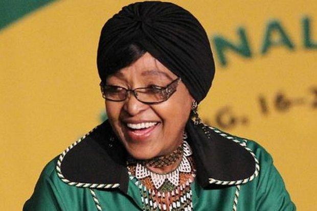Nelson Mandela's ex-wife Winnie Mandela died at 81. (File photo)