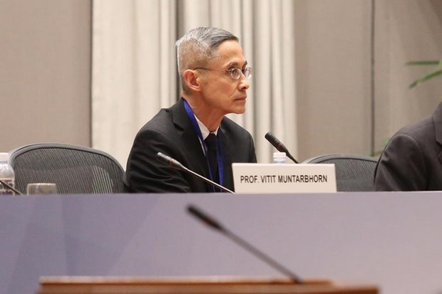 Vitit Muntarbhorn is a Professor Emeritus at Chulalongkorn University. He was formerly UN Special Rapporteur, UN Independent Expert and a member of UN Commissions of Inquiry on human rights. (Photo UNODC)