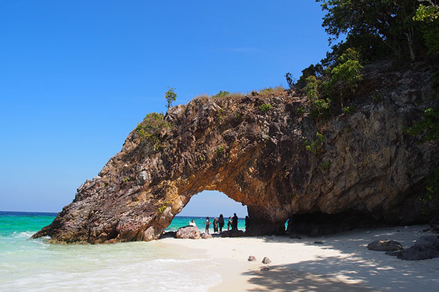 The Satun coastline. Unesco has endorsed the designation of about half of the province as Thailand's first Geopark for its rich geographical and cultural diversity. (Satun Unesco Global Geopark photo)