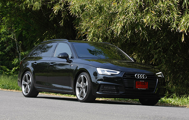 Audi A4 Avant 45 Tfsi Quattro S Line Black Edition 2018 Review