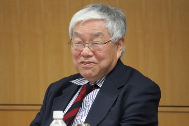 Koichi Hamada is Professor Emeritus at Yale University and a special adviser to Japanese Prime Minister Shinzo Abe. (Photo via TokyoFoundation.org)
