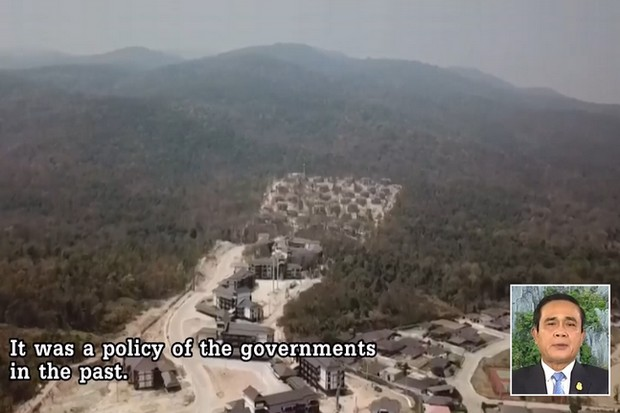 Blame fixing over the Doi Suthep court's construction project is well under way, as Prime Minister Prayut Chan-o-cha indicated last Friday in his weekly TV address.