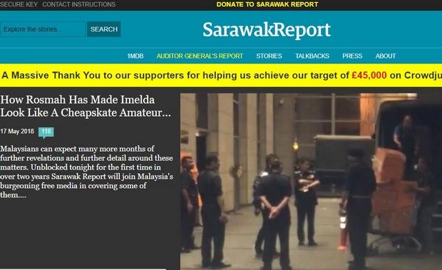 Journo who exposed 1MDB scandal returns to Malaysia