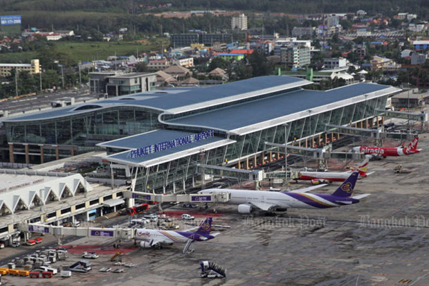 Phuket international airport. (Bangkok Post file photo)