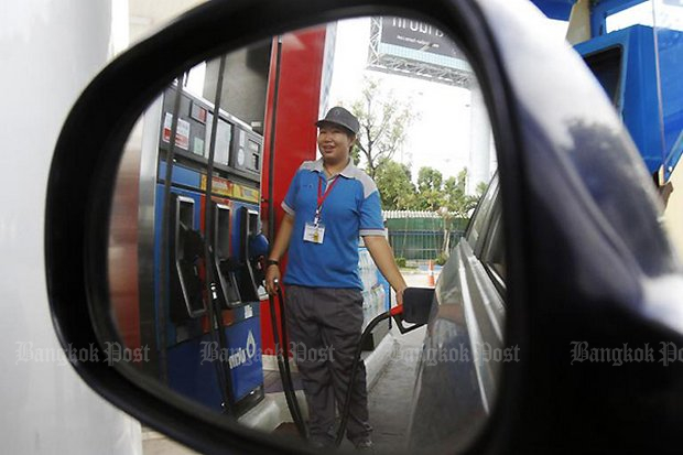 Prime Minister Prayut Chan-o-cha said the State Oil Fund can maintain current pump prices at least until the end of the year. (Bangkok Post file photo)
