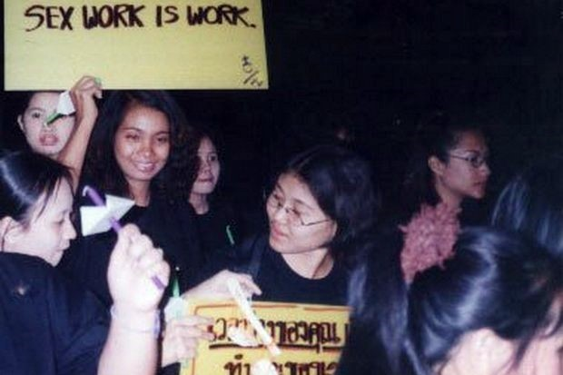 Bangkok-based Empower Foundation has been promoting freedom of choice for sex workers since the 1980s. (File photo via Empower)