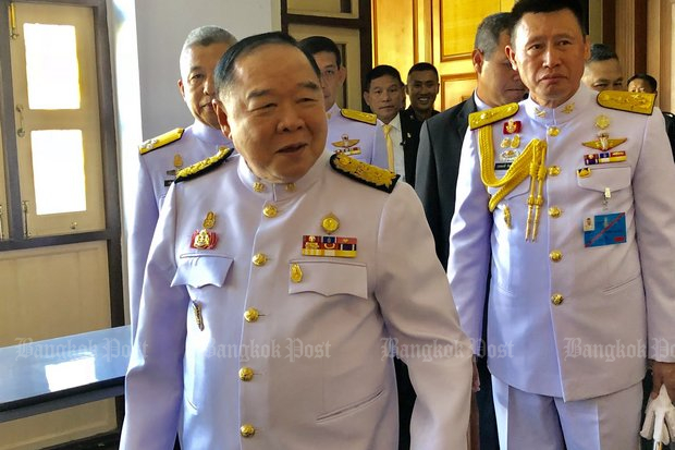 Prawit and the politicians