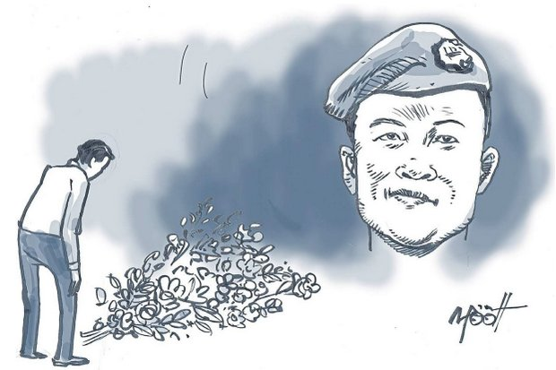 Retired PO1 Saman Kunan, 38, was a retired Seal with no obligation to volunteer, but joined the mission because he wished to 'help bring the boys home'.