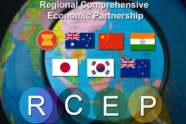The 23rd session of RCEP trade negotiations opens a 10-day session in Bangkok on Tuesday, seeking a so-far elusive final deal on a 16-nation trade pact. (Graphic via Asean.org)