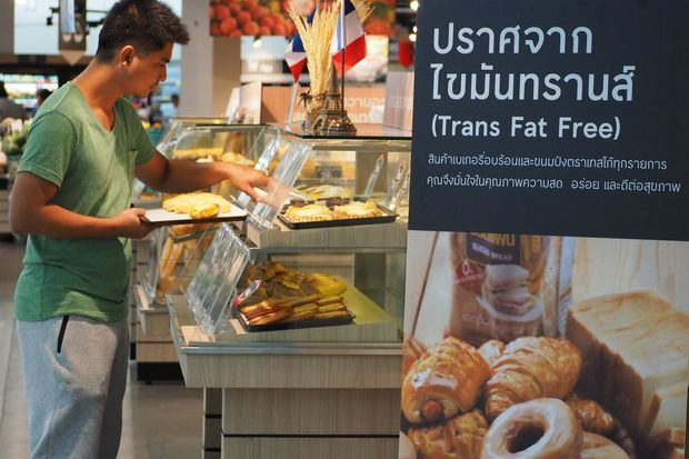 Hypermarket chain Tesco Lotus claims to a frontrunner when it announced all its bakery products would be free of trans fat in June. (Photo supplied by Tesco Lotus)