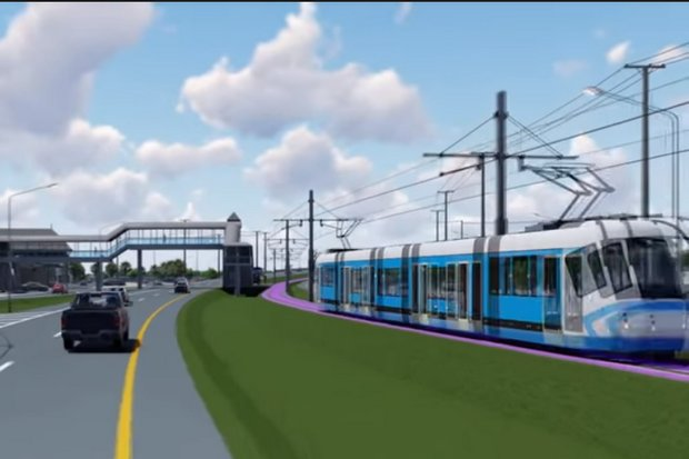 The first phase of the tram network, scheduled to open in 2021, will run about 40 kilometres between  Phuket International Airport to the Chalong intersection at the south end of the province.