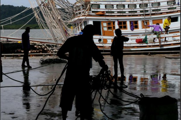 The country has jobs for 40,000 aboard commercial fishing boats, and will have to look abroad to fill the positions. (File photo)
