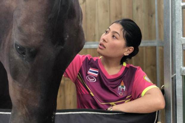 HRH Princess Sirivannavari Nariratana (Photos courtesy of Thailand Equestrian Federation)