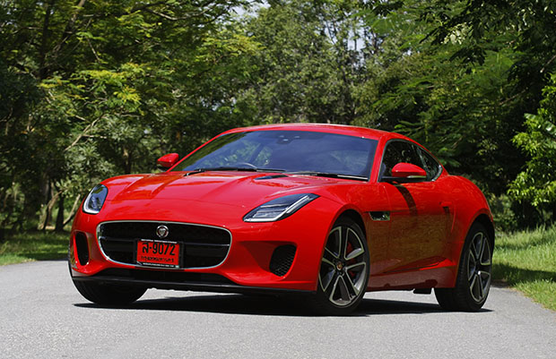 Jaguar F Type Coupe P300 2018 Review