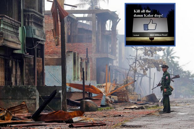 Facebook losing the war on Myanmar hate speech
