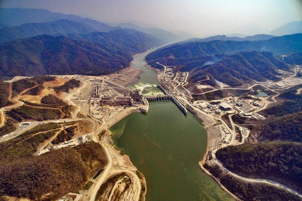 The contentious Xayaburi Dam on the Mekong. Laos should give greater consideration of how hydropower affects communities living in and around dam sites and reservoirs. (File photo)