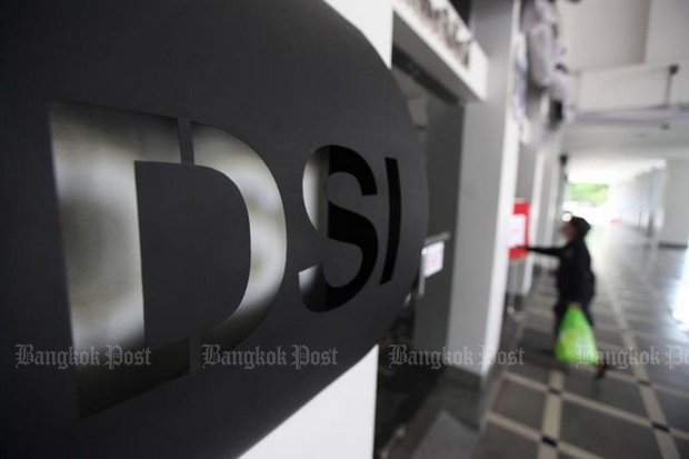 The Department of Special Investigations (DSI) has arrested some of the 32 Thais and foreigners involved in the con game. (File photo via Post Today)