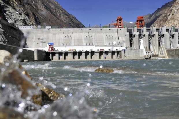 The Zangmu Hydropower Station on the Lhasa (Kyi Chu) River in Tibet. One in five Himalayan rivers have reduced flow in the last several years as China rapidly strips resources. (AFP file photo)