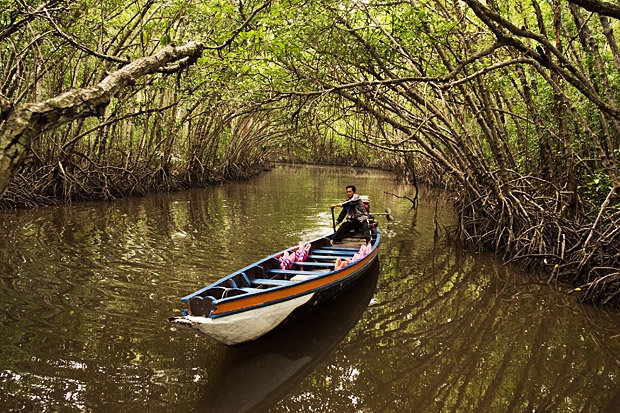 Residents of Bangpu in Pattani province offer boat tours to experience the livelihood of the community.
