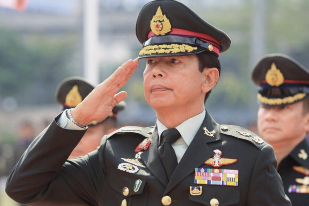 The key appointment in Military Reshuffle 2018 was Gen Apirat Kongsompong as commander of the Royal Thai Army through 2020. The son of a 1991 coup leader, Gen Apirat is a trusted loyalist of the current military leadership headed by coup leader Prime Minister Prayut Chan-o-cha. (File photo)