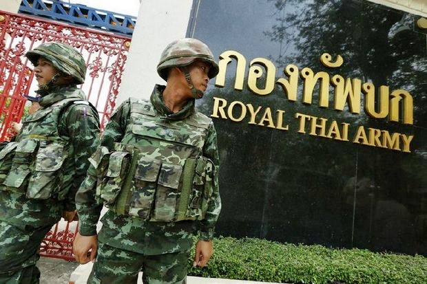 The army has announced a massive reorganisation that will include dissolving several units and a wholesale moving of bases out of Bangkok. (File photo)