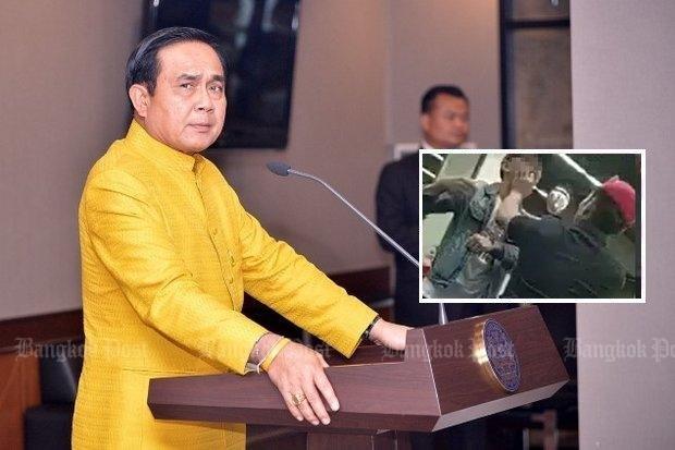 Prayut: Authorities must control themselves (Bangkok Post photo)
