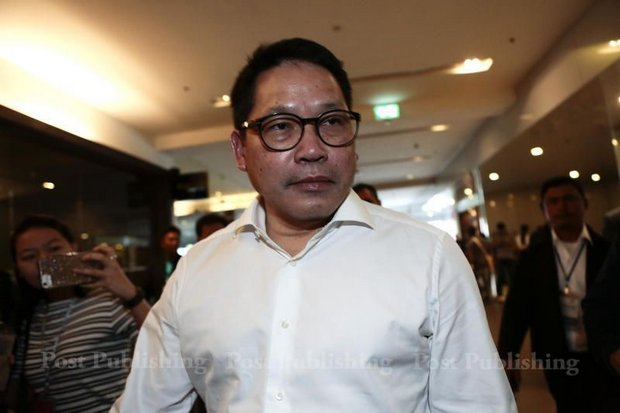 Uttama Savanayana, leader of the Palang Pracharath Party (PPP) and Minister of Industry, says the pro-Prayut party is 'always open' to anyone interested in joining. (Post Today photo)