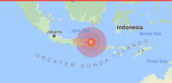 Quake Off Java And Bali Kills Three Bangkok Post News