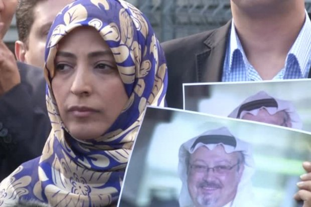Tawakkol Karman of Yemen, co-winner of the 2011 Nobel Peace Prize, is one of thousands worldwide, up to and including US President Donald Trump, demanding answers in the disappearance and likely murder of Saudi journalist Jamal Khashoggi. (Reuters photo)