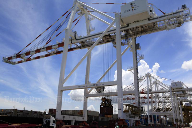 Thailand's customs-cleared exports drop in September, the first decline in 19 months.