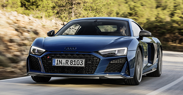 Audi R8 gets more power for 2019