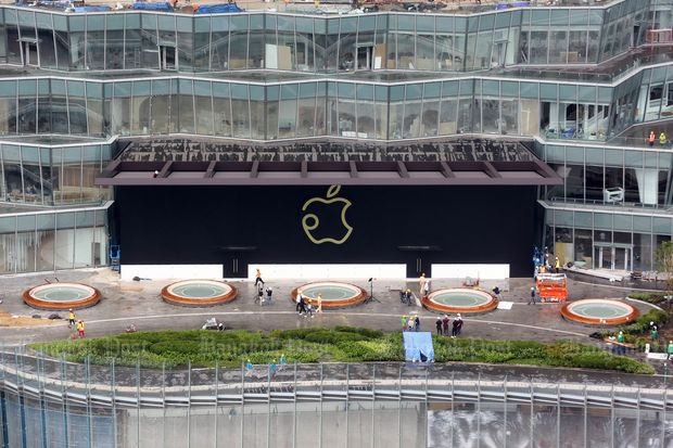 The first Apple Store in Thailand opens its door on Nov 10 this year. (Photo by Wisit Thamngern)