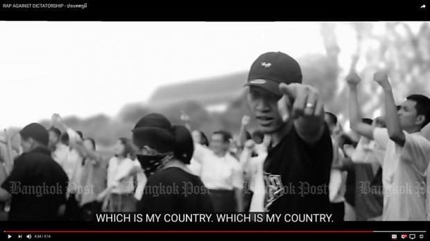 The rap song 'Prathet Ku Mee' (What My Country's Got!) has become the country's most talked about song. Produced by 10 rappers of the 'Rap Against Dictatorship' group, the song has garnered more than two million views.