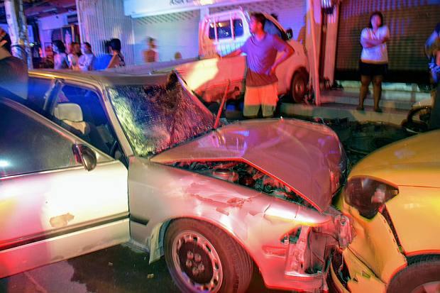 Filipina killed by car in Pattaya