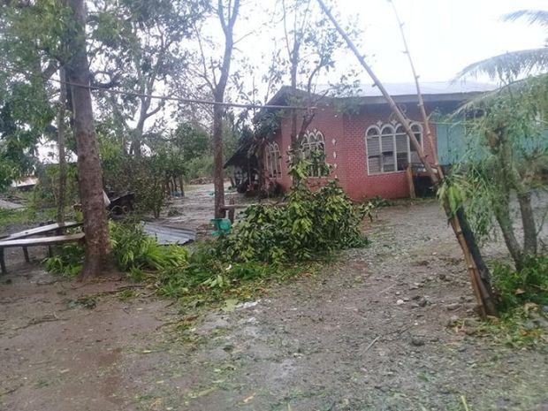 Damage caused by Typhoon Yutu in Isabela province where the typhoon first made landfall in Philippines is seen in this still image obtained from social media on Tuesday. (Eivron del Rosario/via REUTERS)