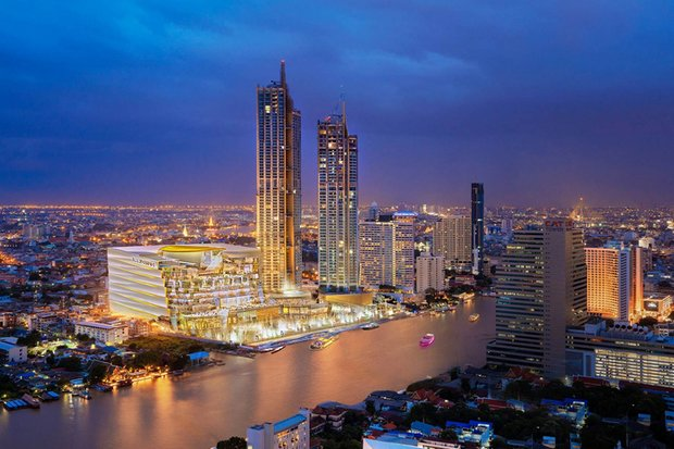 Iconsiam is going to lavish a staggering 1 billion baht on a spectacular Nov 9 opening night party for its riverside mall and tourist attraction. (Photo via Iconsiam.com)