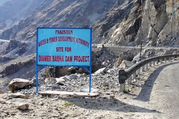 The planned Diamer-Bhasha dam on the upper course of the Indus River will be the third-largest in the world if and when it is completed. (NY Times photo)
