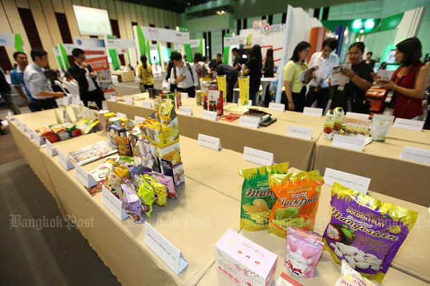 Business operators attend SME Matching Day 2018, held Aug 2-3, at Centara Grand at CentralWorld. (File photo)