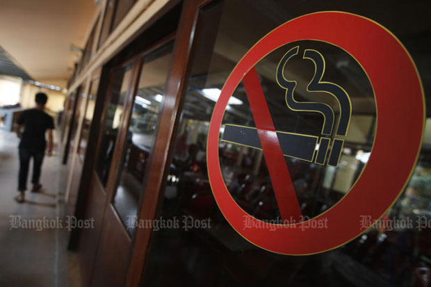 Eighty-one new zones where smoking of tobacco is prohibited published in the Government Gazette, to be enforced in 90 days.