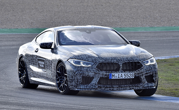 Bmw Teases M8 Coupe For 2019