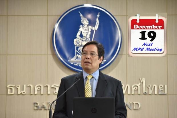 Titanun Mallikamas, Secretary of the Monetary Policy Committee (MPC). 'Monetary policy should remain accommodative' but the need to keep a low rate of 1.5% is gradually reducing. (Photo courtesy Bank of Thailand)