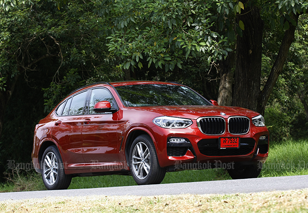 BMW X4 xDrive 20d M Sport (2018) review