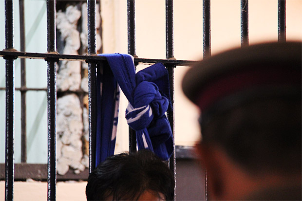 Thongkham Phuthaddok found hanged in Kalasin police cell. — Photo: Post Today