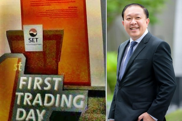 CEO Kelvin Yew Hock Koh of SISB Co Ltd was optimistic after the first day of trading on the Market for Alternative Investment, even though prices of the stock fell. (Photos provided)