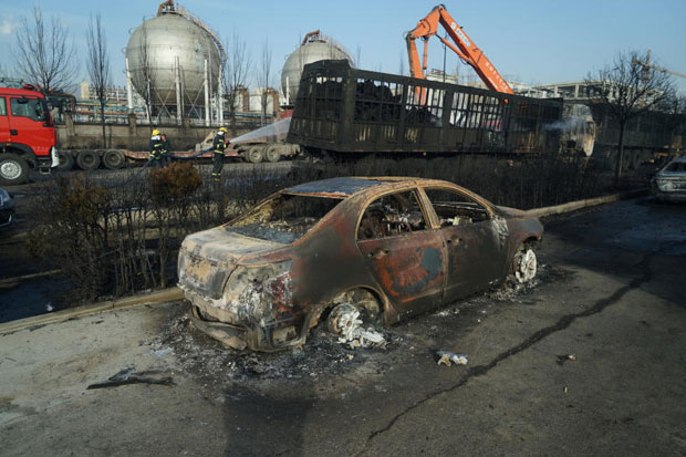 Gas Leak In Car >> Chemchina Says Gas Leak At Hebei Plant Caused Blast That