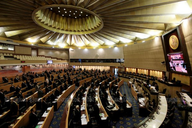 The old, familiar parliament will close within three weeks, but the new Parliament House is far from ready for occupancy. (File photo by Chanat Katanyu)