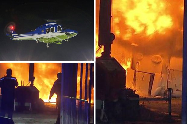 The helicopter carrying Vichai Srivaddhanaprabha and four others crashed and burned immediately after takeoff from the King Power Stadium following the Premier League match on Oct 28. (File photos)